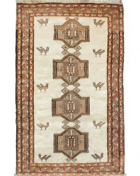 Beautiful 4 by 6 hand made area rug from iran for sale at our online rug store and our rug show room