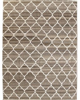Moorish 9 by 12 Hand Rug