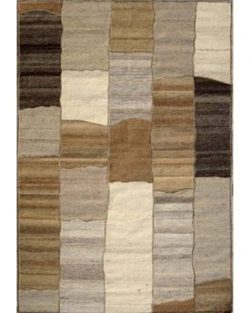 Desert Patch Wool hand made rug