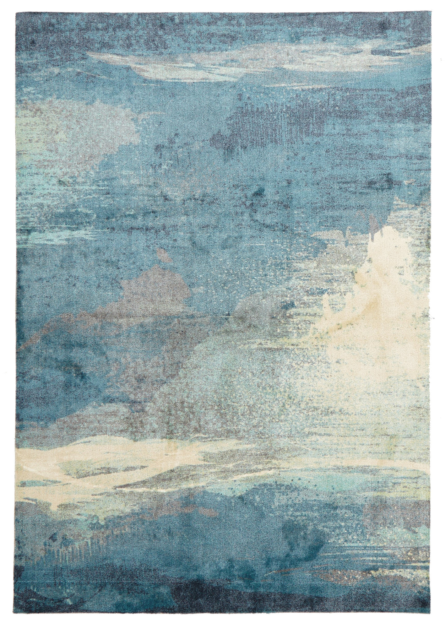 Contemporary Bamboo Silk Area Rug 3 By 5