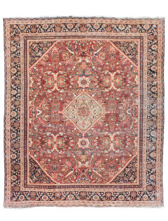 10 by 12 antique rug vintage persian iran rug