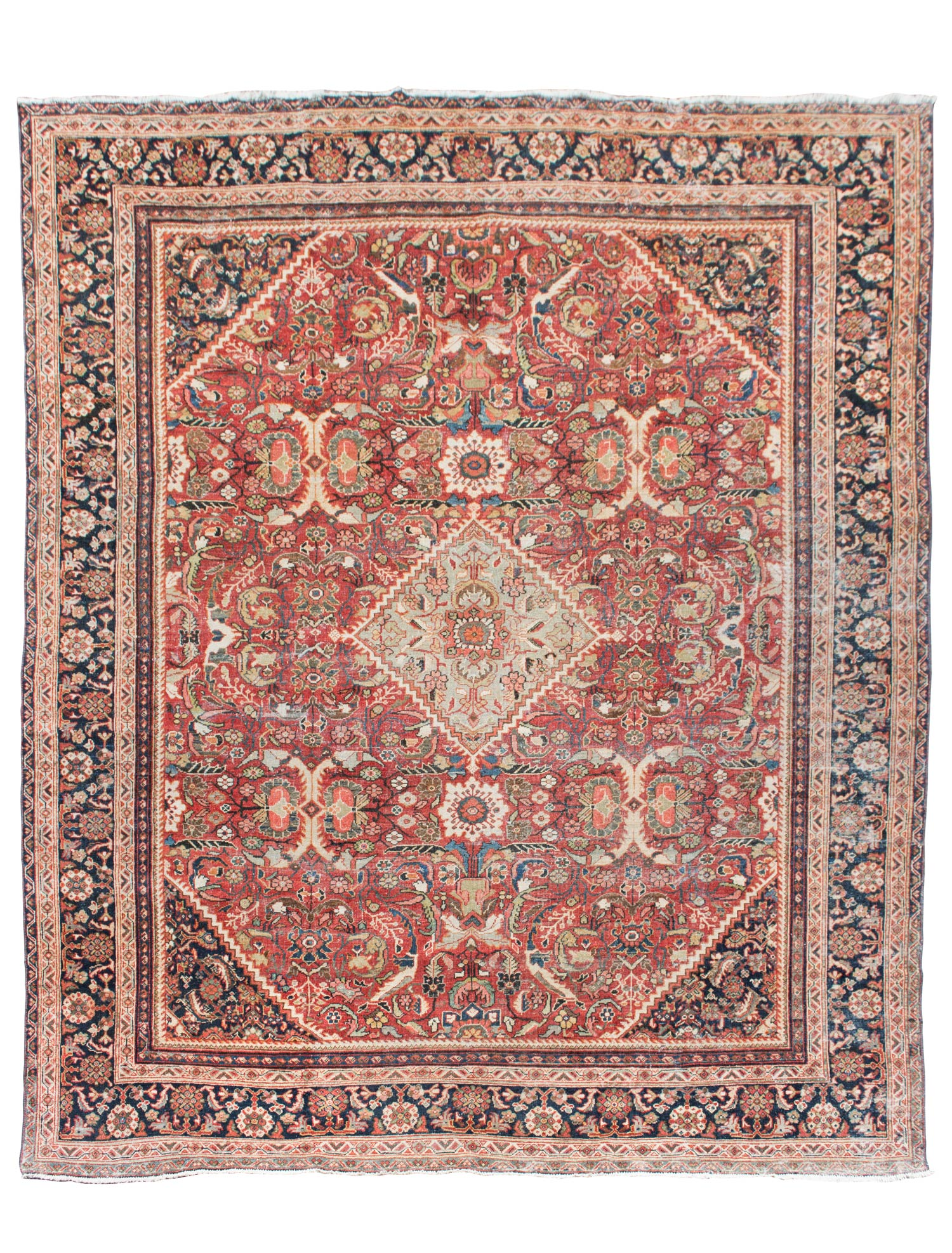 semi antique persian mahal - ae rugs inc Antique Rugs