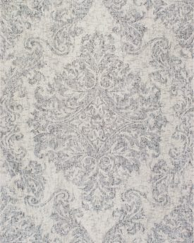 Tuscany TU-88 Silver Hand Tufted Area Rug Affordable Carpet